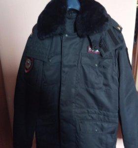 Форма полиции зимняя 52 54