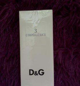 Туалетная вода D&G императрица 3