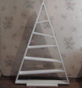 полка треугольная - елка новогодняя