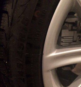 Продаю зимние колёса на BMW