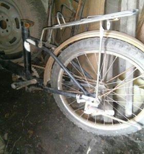 Велосипед спутник складной