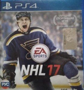 Игра ps4 NHL 17