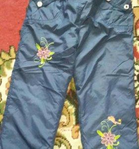 Осенние больньевые штаны