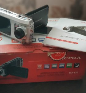 Автомобильный видеорегистратор Supra SCR-550