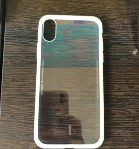 Чехолы на iPhone X новый