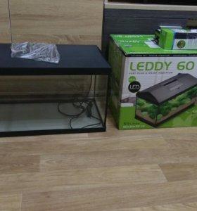 Аквариум Aquael leddy SET 60 (54 л.) (новый)