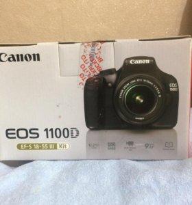 Фотоаппарат зеркалка Canon 1100D