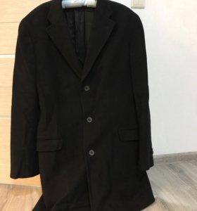 Мужское классическое пальто Massimo dutti