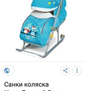 Сани детские Ника 6
