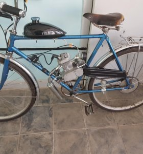 Велосипед с мотором F80 (Веломопед)