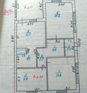 Дом, 69.6 м²