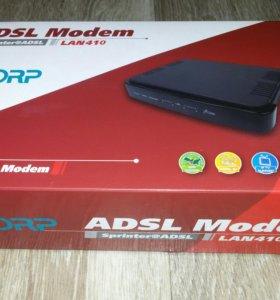 ADSL модем новый!