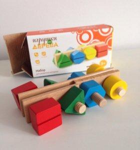 Деревянная игрушка для развития моторики