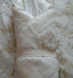 Одеяло конверт Lappetti на выписку из роддома