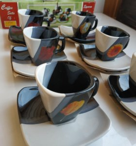 Кофейный набор керамический в японском стиле