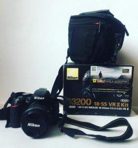 Nikon D 3200 18-55 VR II kit