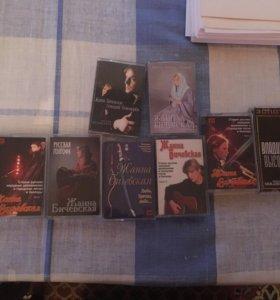 Жанна Бичевская аудиокассеты