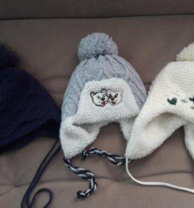 Детские шапки.