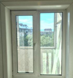 Продам пластиковое окно б/у