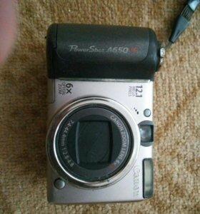 Фотоаппарат Canon S650