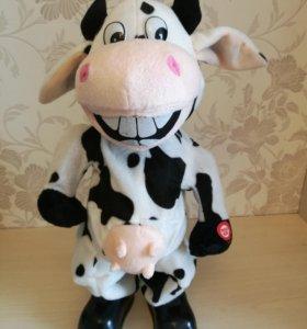 Игрушка на батарейках корова