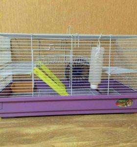 Клетка и переноска для крыс