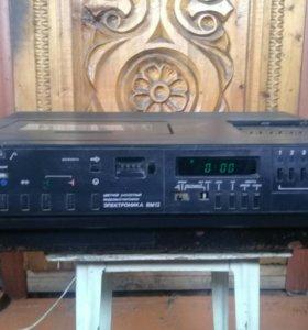 Видеомагнитафон электроник вм 12