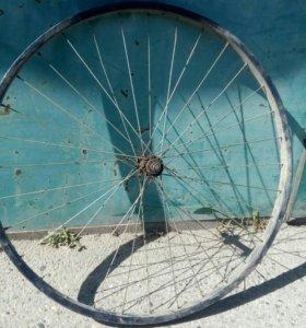"""Переднее колесо от """"Большого"""" велосипеда"""