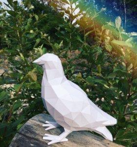 Голубь Papercraft