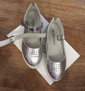 Серебряные туфельки