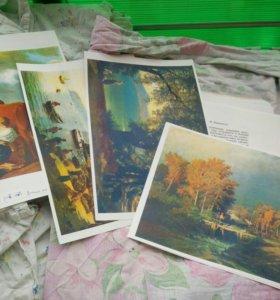 Распечатки картин русских художников