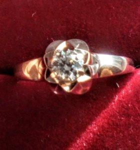 Кольцо из белого золота!