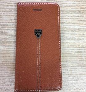 Кожаный чехол для IPhone 6 новый, 6S