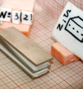 Прямоугольный неодимовый магнит 76*25*3 мм