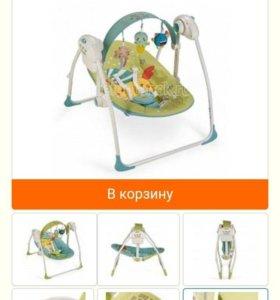 Электрокачели happy baby jolli