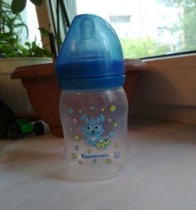 Бутылочка Курносики + 3 соски