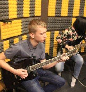 Занятия по гитаре и вокалу для детей от 3 лет