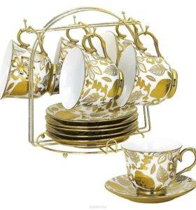 Чайно-кофейный сервиз Bekker Koch на 6 персон