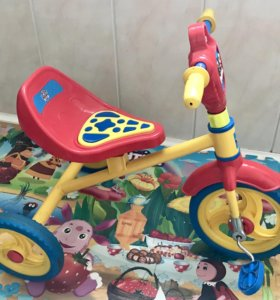 Детский трехколёсный велосипед