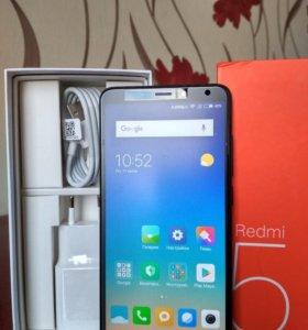 Xiaomi Redmi 5 новый3/32GB богатая комплектаци
