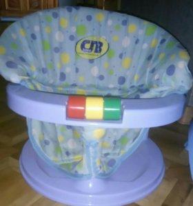 Горка и сиденье для ванны малышам