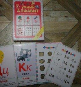 развивающие яркие книги,карточки