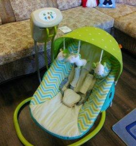Электронные кресло-качели Happy baby. Шезлонг
