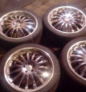 Комплект колёс с литыми дисками лето R18 225/40