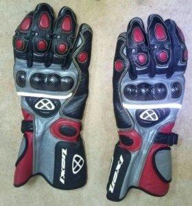 Перчатки байкера Ixon NE6139 RED M-RS Protect