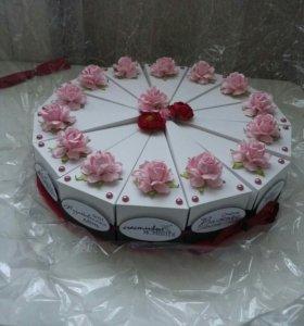 Торт для денег на свадьбу