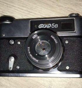 Фотоаппарат ФЭД-5В + оборудование для проявки