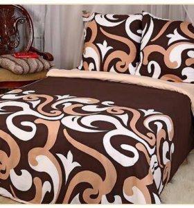 Комплект постельного белья 2сп с евро простыней