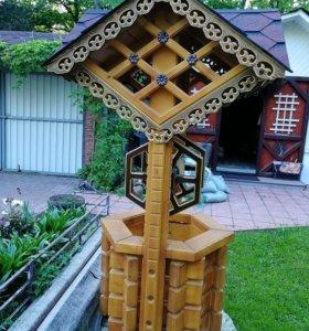 Декоративный колодец