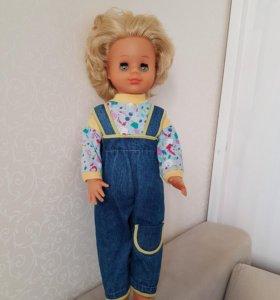 Кукла СССР с красивым лицом Наташа 60 см
